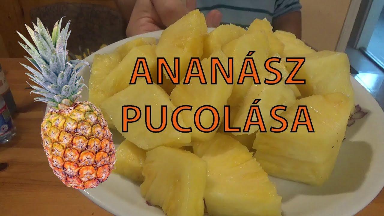 az ananász segíti a férgeket