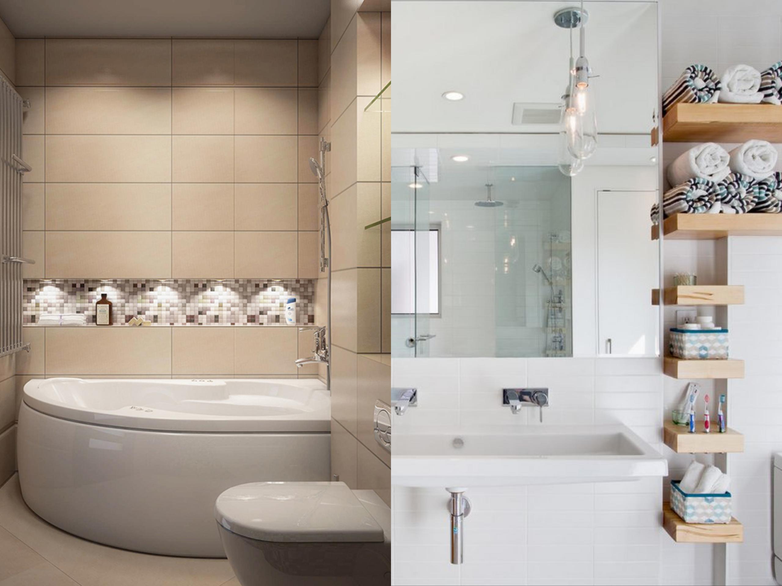 Nagy ötletek kis fürdőszobákhoz - Mirage Fürdőszoba - Mirage Fürdőszoba