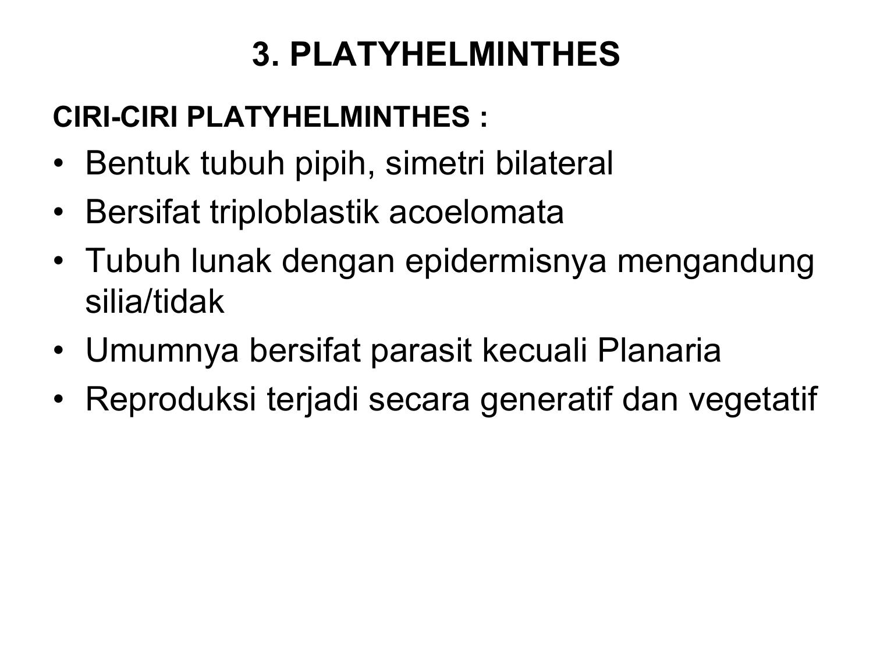 Klassifikasi nemathelminthes beserta contohnya.