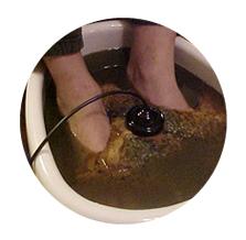 lábfürdő méregtelenítése