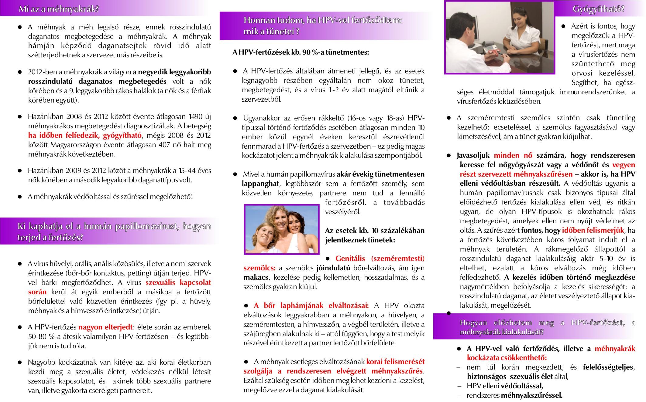ANTSZ - Tájékoztató a / évi HPV elleni iskolai kampányoltásról