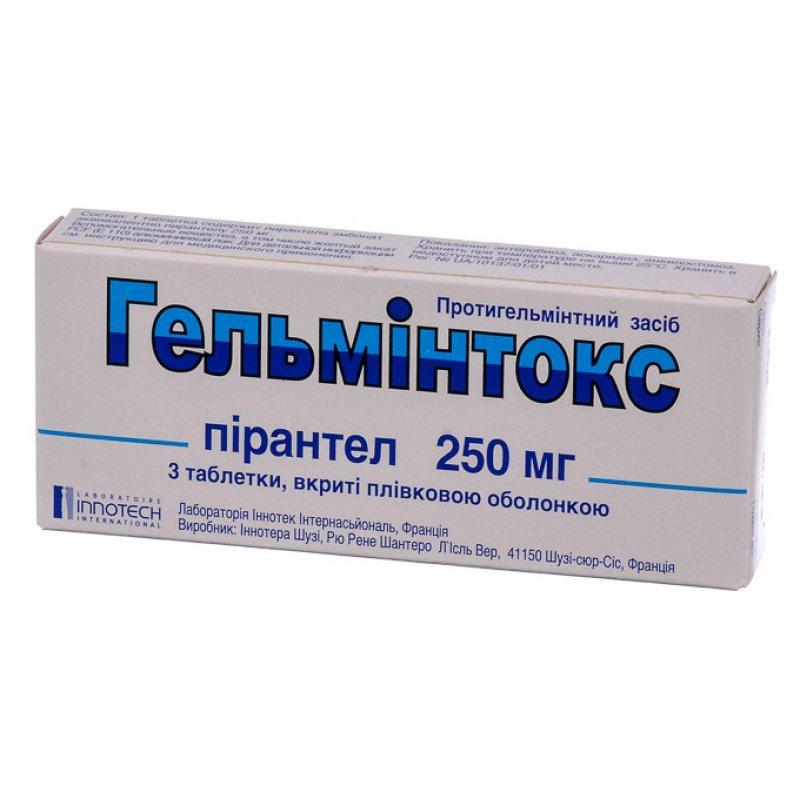 Enterobiosis tabletták, hol kell átadni
