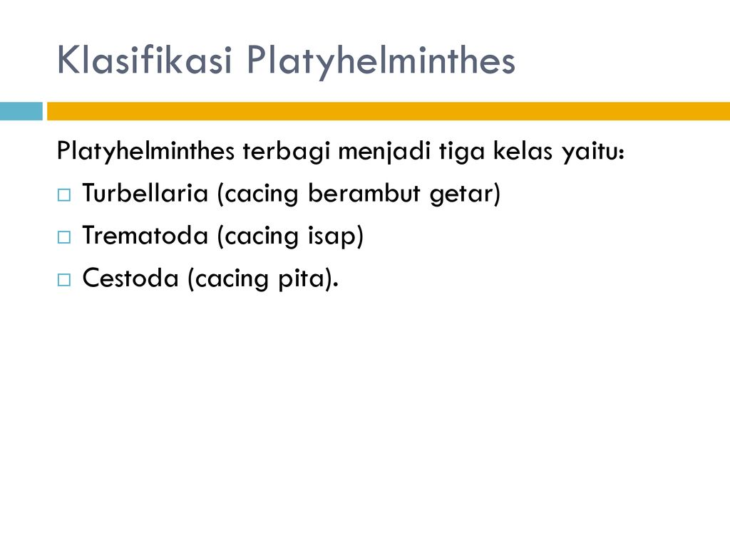 platyhelminthes és nemathelminthes ppt
